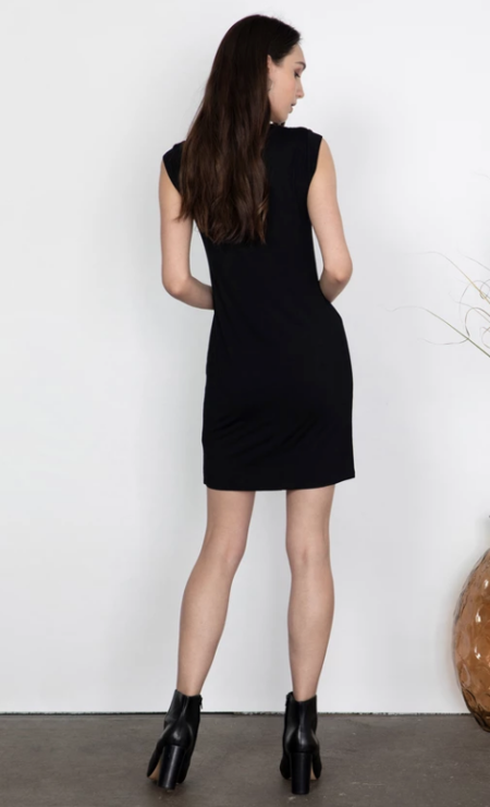 Gentle Fawn Tidal Dress - black