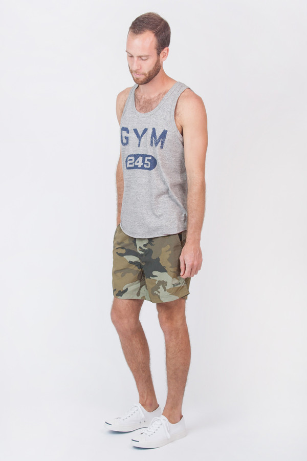 3c93d07b341de Men s Todd Snyder Champion Gym 245 Tank Top. sold out. Todd Snyder