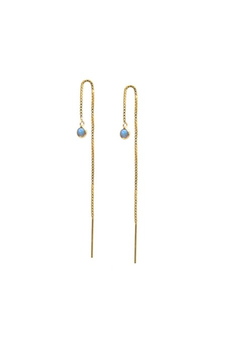 Jurate Brown Dayna Threader Earrings