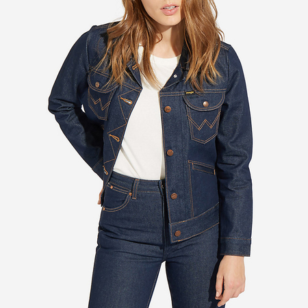 Wrangler Western Denim Jacket - Rigid New Wash