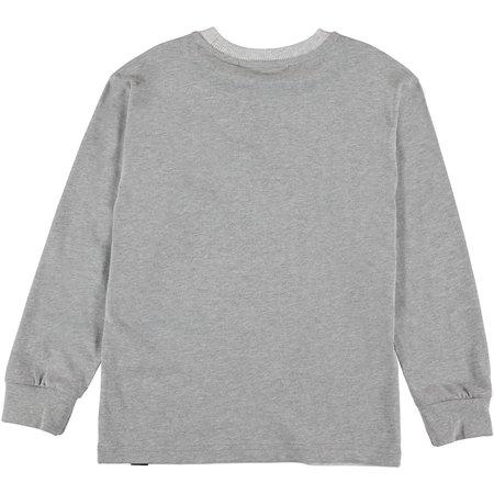 Kids Molo Risci Long Sleeve T-shirt - Yeti