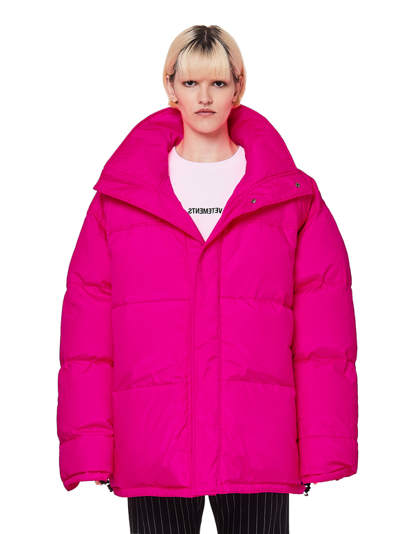 47678064d Vetements Fluo Puffer Jacket - Pink on Garmentory