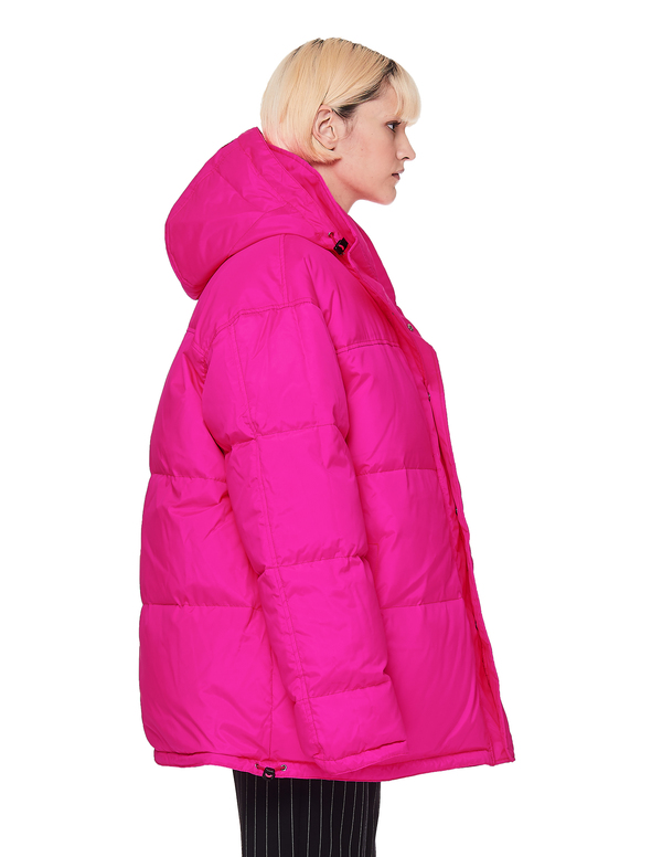 9c1e50497 Vetements Fluo Puffer Jacket - Pink