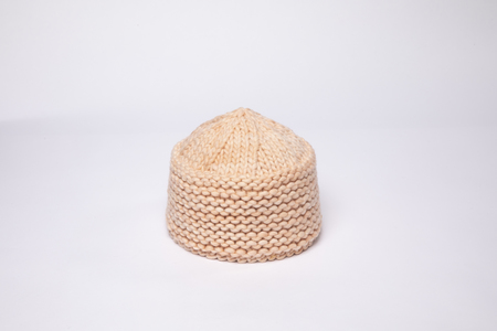 Clyde Knit Cossack in Peach