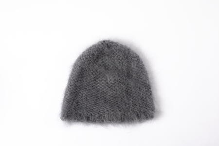 Clyde Mohair Hat in Slate