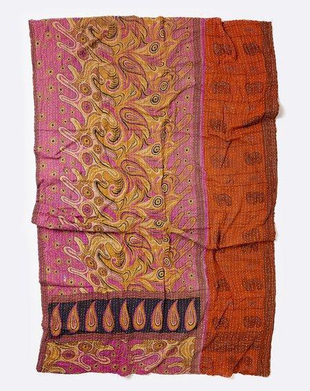 Vintage Kantha Throw IV