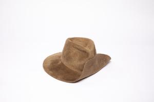 Clyde Wide Brim Pinch Hat W. Pin