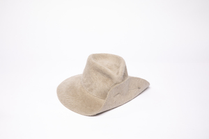 Clyde Wide Brim Pinch Hat W. Pin