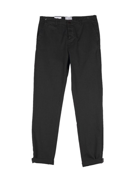 Cuisse de Grenouille Chino Pant - Anthracite Grey