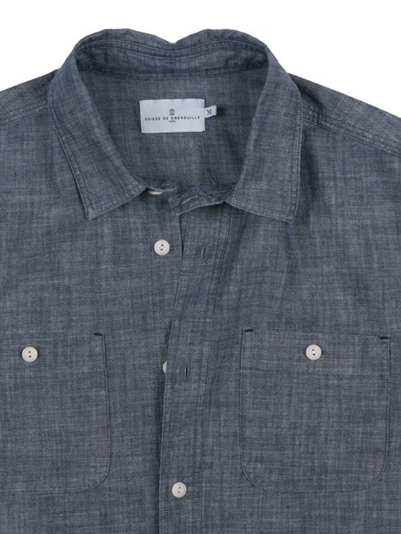 Cuisse de Grenouille Innove Shirt - Blue Chambray