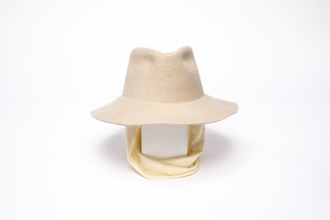 Clyde Short Brim Pinch Hat W. Neck Shade