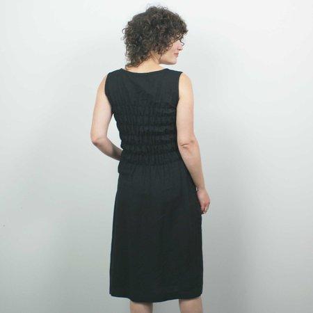 Modaspia Fiji Linen Dress - Black
