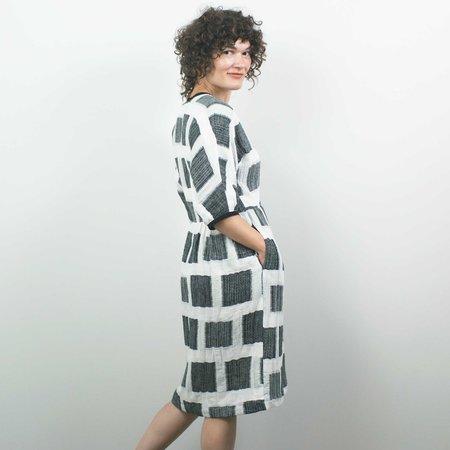 Modaspia Valentina Dress - Black/White