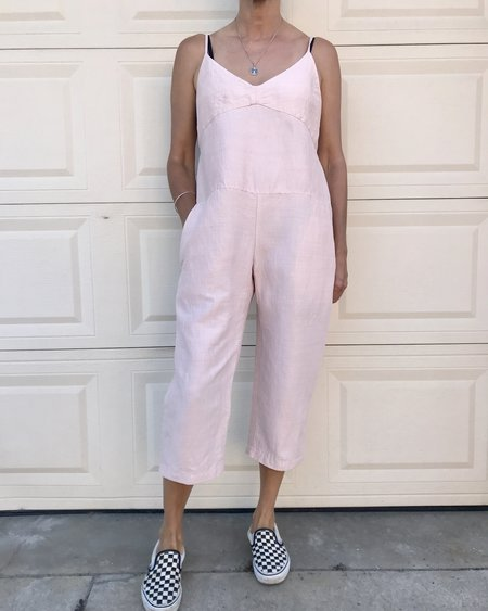 KLAXON HOWL X ARDITH Silk Jumpsuit - Pink