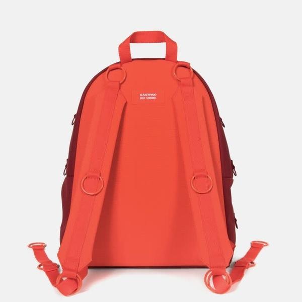 Raf Simons x Eastpak Padded Loop Backpack - Burgundy/Orange