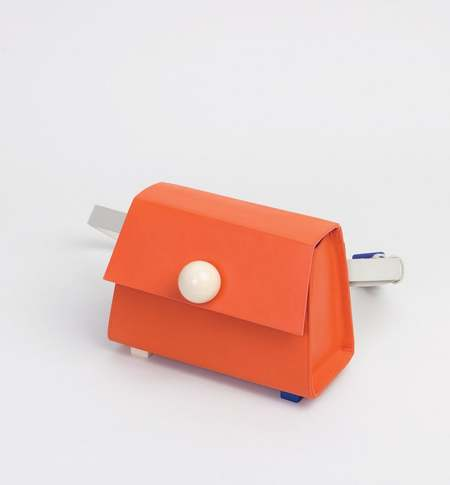 Matter Matters Mini Trapezoid Belt Bag - Orange
