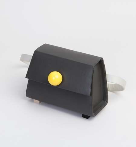 MATTER MATTERS Mini Trapezoid belt bag - Charcoal Grey