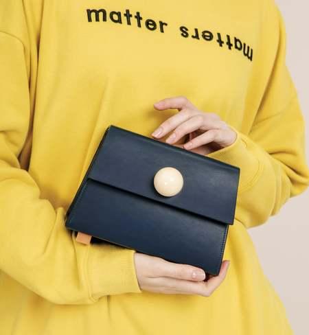 Matter Matters Mini Trapezoid Belt Bag - Navy