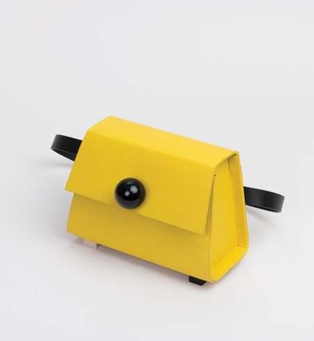 Matter Matters Mini Trapezoid Belt Bag - Yellow