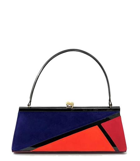 Daniele Ancarani Colorblock Handbag - Blue Multi