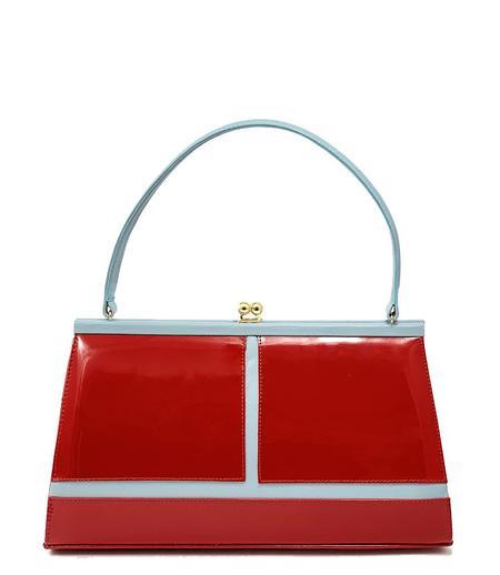 Daniele Ancarani Handbag - Red/Blue