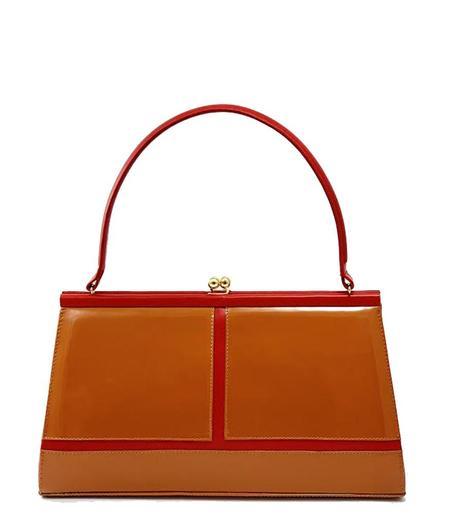 Daniele Ancarani Handbag - Red/Camel