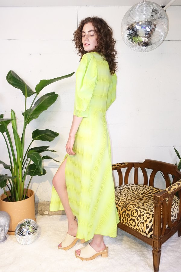 Rachel Comey Amplus Dress - Neon Yellow