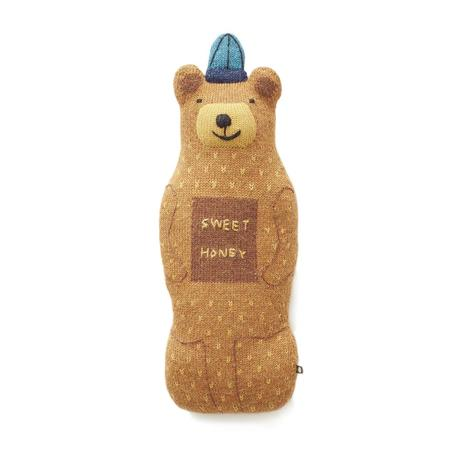kids Oeuf Honey Bear Pillow
