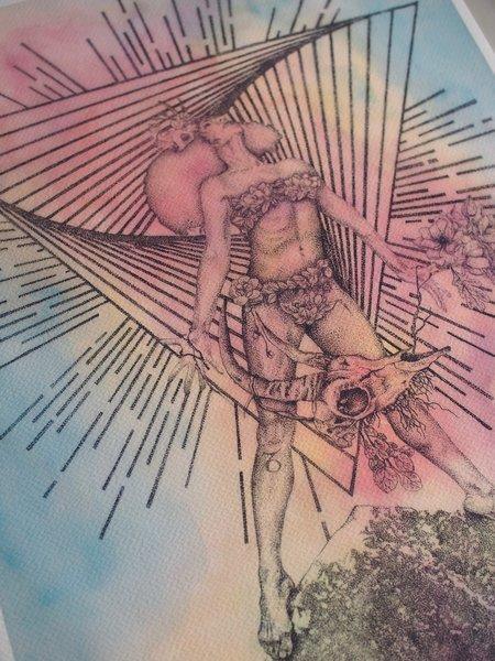 Art of Chelsea Capricorn Print