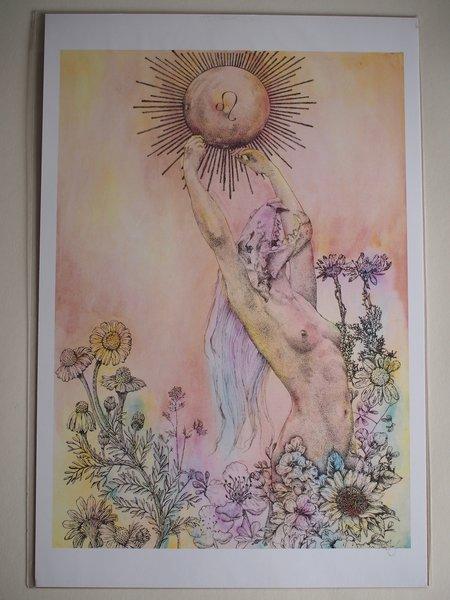 Art of Chelsea Leo Print