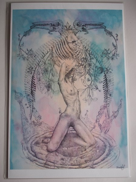 Art of Chelsea Pisces Print