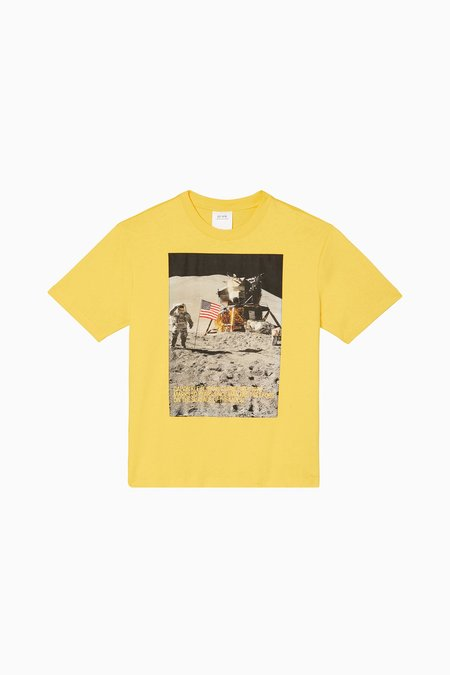 Calvin Klein Moon Landings SS Tee - Lemon Chrome
