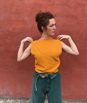 Shaina Mote Sonora Top - Mandarin