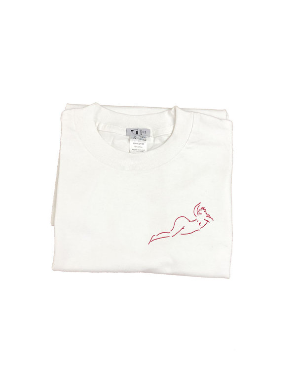 unisex House of 950 nude woman in repose tee shirt