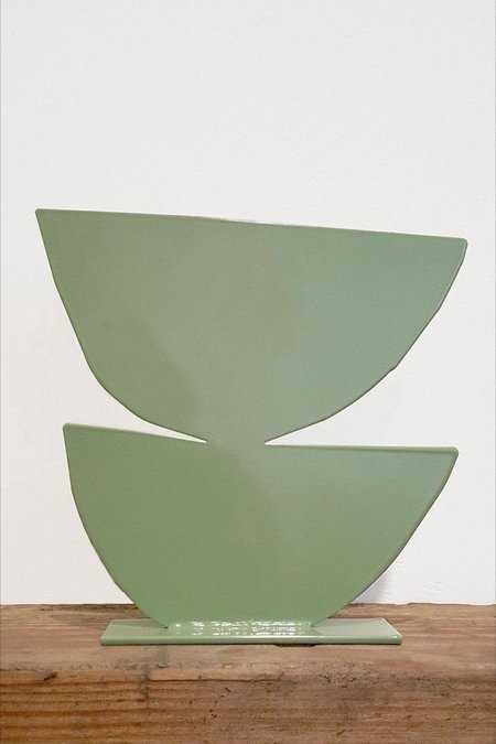 Upton Paloma Metal Sculpture - Sage