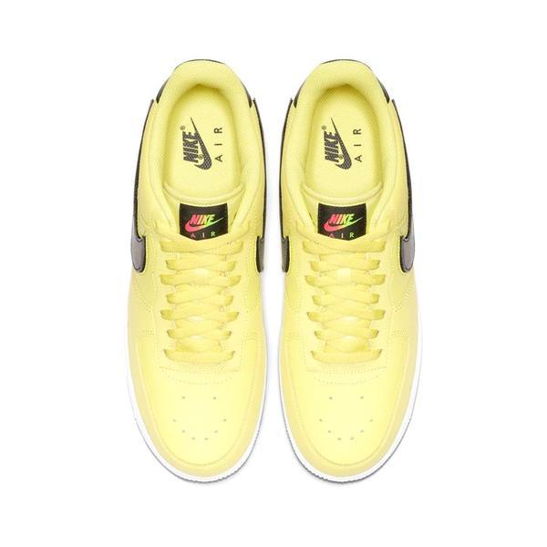 Nike AIR FORCE 1 '07 LV8 3 YELLOW PULSEBLACKWHITE