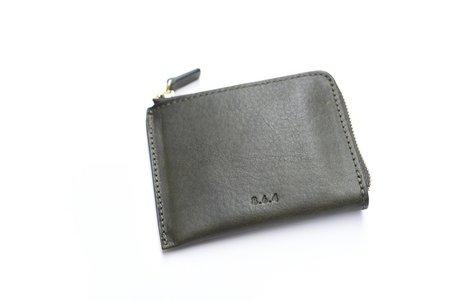 Unisex 8.6.4 Leather Zip Wallet - Green