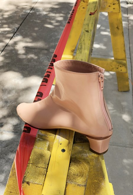 Martiniano High Leone Ankle Boot - Peach