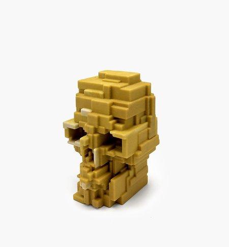 Adam Lister Skull - Yellow/Gold