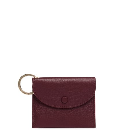 OAD Assembly Mini Card Case - Bordeaux