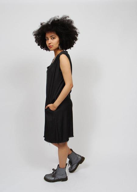 Love Tanjane Hand Dyed Tank Dress - Black