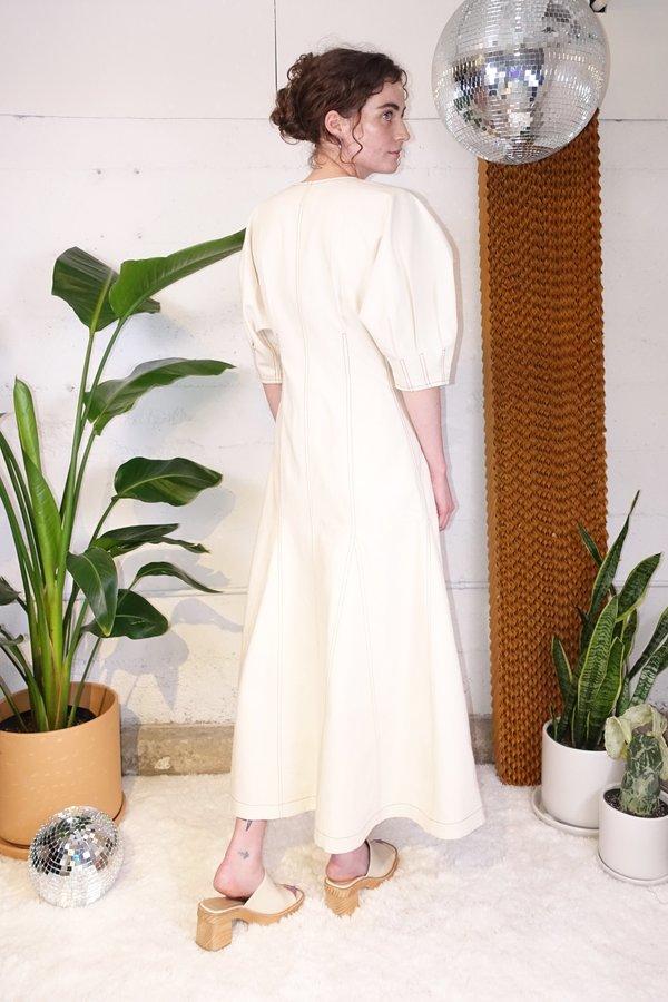 Mara Hoffman Sophie Dress - Natural Denim