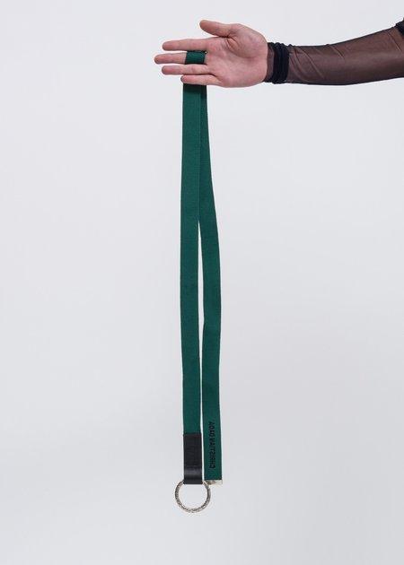 Christian Dada KARAKUSA Ring Belt - Green/Black