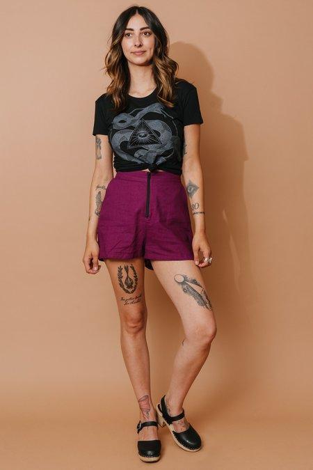 Field Day Breezy Shorts - Violet