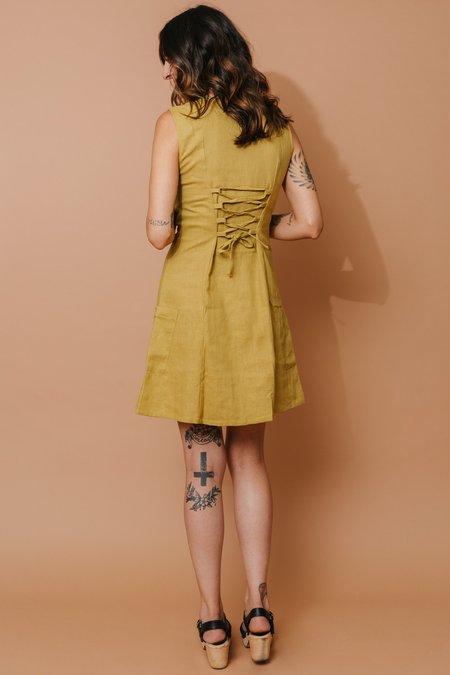 Field Day Loretta Dress - Marigold