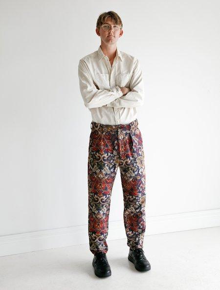 Engineered Garments Carlyle Pant - Big Floral Jacquard