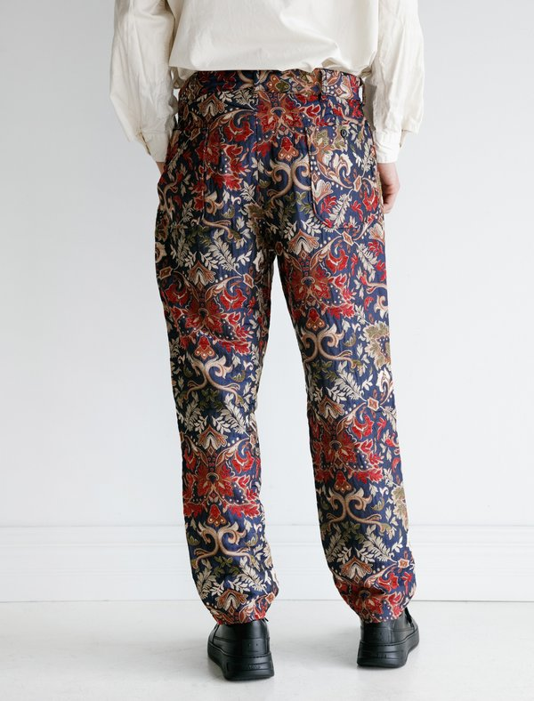 Engineered Garments Carlyle Pant - Big Floral Jacquard
