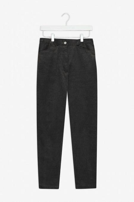 frisur minka corduroy trousers - black