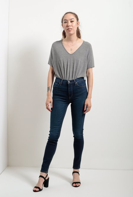 Hudson Jeans Barbara High Waist Super Skinny Jean - Requiem
