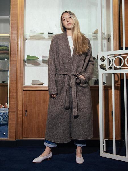 Lauren Manoogian Chunky Robe Coat - Morel